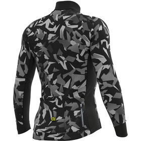 Alé Cycling Graphics PRR Glass Longsleeve Jersey Herren black-grey